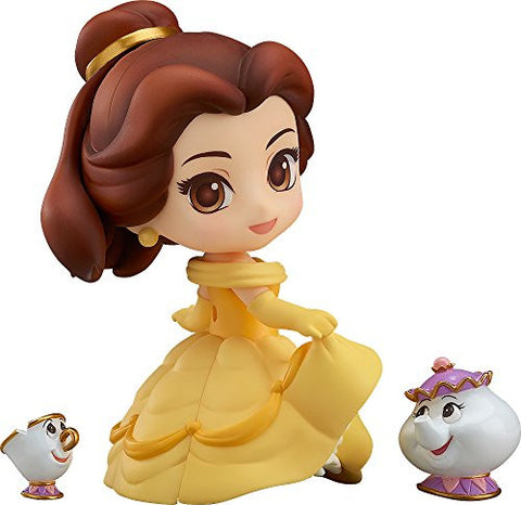 Image for Beauty and the Beast - Belle - Chip - Mrs. Potts - Nendoroid #755