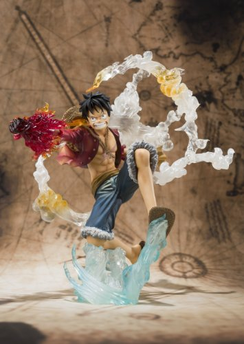 Image 4 for One Piece - Monkey D. Luffy - Figuarts ZERO - Battle ver. (Bandai)