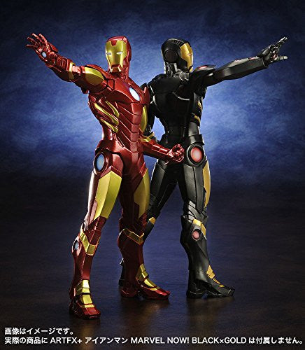 Image 6 for The Avengers - Iron Man - ARTFX+ - Marvel The Avengers ARTFX+ - 1/10 - Red x Gold (Kotobukiya)