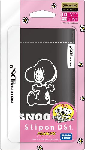 Slipon DSi Peanuts (Black)