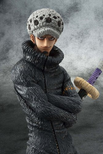 "Image 3 for One Piece - Trafalgar Law - Excellent Model - Portrait Of Pirates ""Sailing Again"" - 1/8 - Timeskip (MegaHouse)"