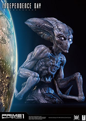 Image 6 for Independence Day: Resurgence - Alien - Bust - Life-Size Bust LSIDR-01 - 1/1 (Prime 1 Studio)