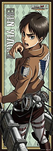Image 1 for Shingeki no Kyojin - Eren Yeager - Long Poster - Poster - Clear Poster (Broccoli)