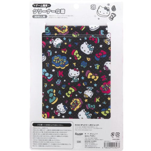 Image 2 for Hello Kitty Pouch for 3DS LL (Black)