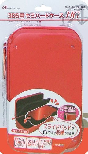 Image 1 for Semi Hard Case HG for 3DS LL (Red)