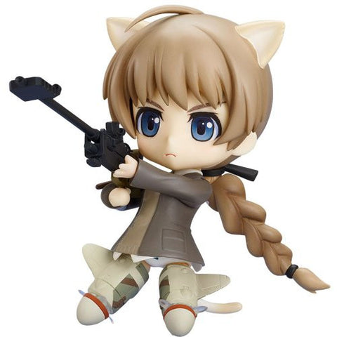 Image for Strike Witches - Lynette Bishop - Nendoroid - 162 (Good Smile Company, Phat Company)