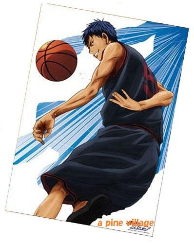 Image 1 for Kuroko no Basket - Aomine Daiki - Clear Poster (Movic)