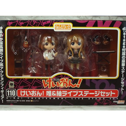 Image 4 for K-ON! - Hirasawa Yui - Kotobuki Tsumugi - Nendoroid #110 - Live Stage Set Ver.