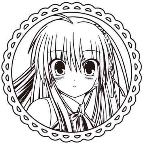 Image 2 for Little Busters! - Natsume Rin - Cup & Saucer (Broccoli Key Visual Art's)