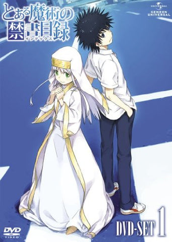 Image for To Aru Majutsu No Index Dvd Set 1