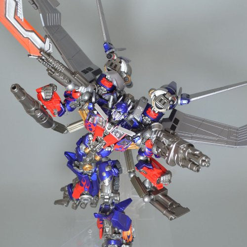 Image 8 for Transformers Darkside Moon - Convoy - Revoltech #040 - Revoltech SFX - Optimus Prime - Jetwing Equipment (Kaiyodo)