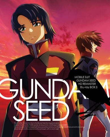Image for Mobile Suit Gundam Seed HD Remaster Blu-ray Box 3 [Limited Edition]