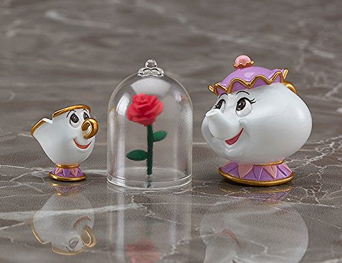 Beauty and the Beast - Belle - Chip - Mrs. Potts - Nendoroid #755