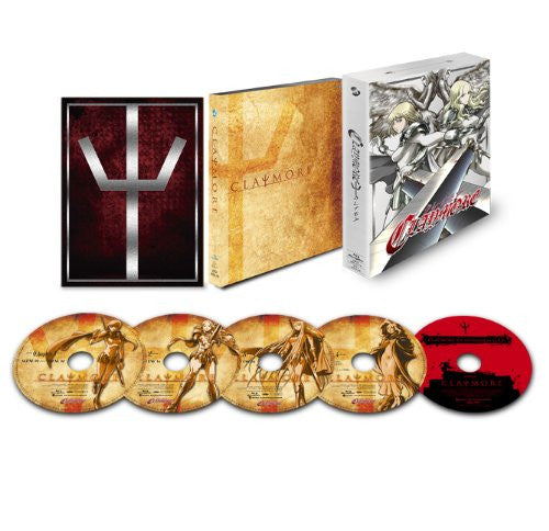 Image 1 for Claymore Blu-ray Box [4Blu-ray+CD]