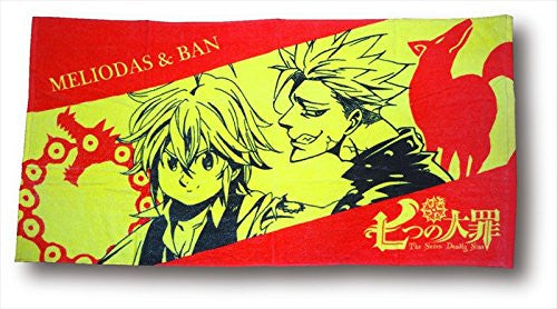 Image 1 for Nanatsu no Taizai - Meliodas - Ban - Towel - Pile Bath Towel (Fragment)