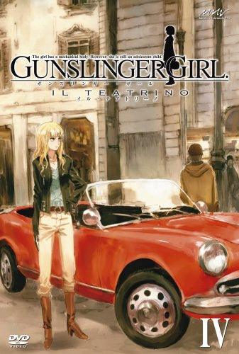 Image 1 for Gunslinger Girl - Il Teatrino Vol.4 [Limited Edition]