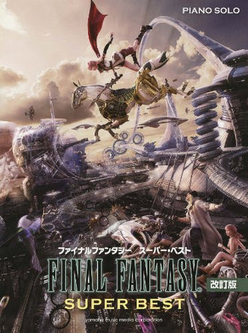 Image for Final Fantasy Super Best Piano Solo Sheet Music Book