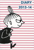Thumbnail 1 for Moomin Diary 2013 14 Cover Design By Nimes Pink Border X Little My Diary Book