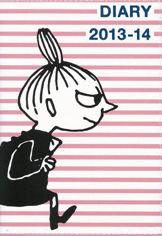 Image for Moomin Diary 2013 14 Cover Design By Nimes Pink Border X Little My Diary Book