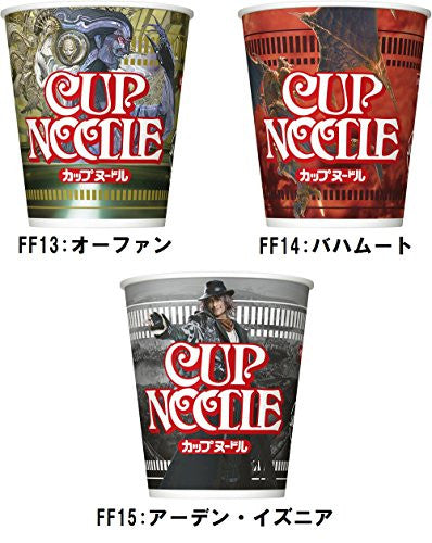 Image 11 for Final Fantasy - Cup Noodle - Final Fantasy Boss Collection  - Complete Limited Set