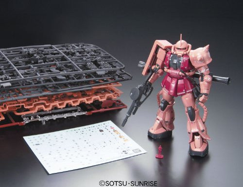 Image 9 for Kidou Senshi Gundam - MS-06S Zaku II Commander Type Char Aznable Custom - RG - 1/144 (Bandai)