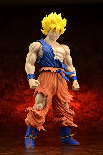 Image 3 for Dragon Ball Z - Son Goku SSJ - Gigantic Series - Damage ver. (X-Plus)
