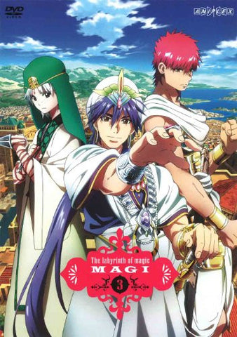Image for Magi The Labyrinth Of Magic 3