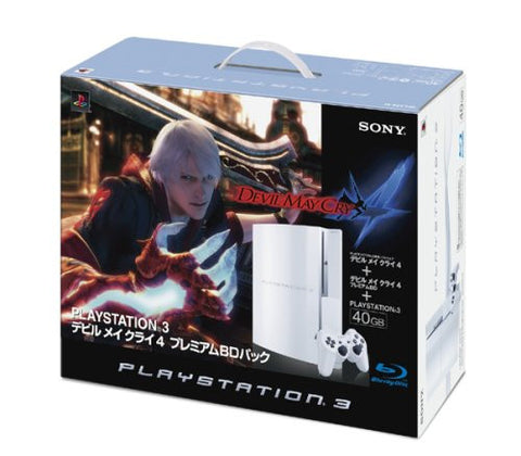 Devil May Cry 4 Premium BD Pack (Ceramic White)