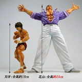 Thumbnail 7 for Grappler Baki - Hanayama Kaoru - Real Detail Figure - Normal ver. (Spider Web)