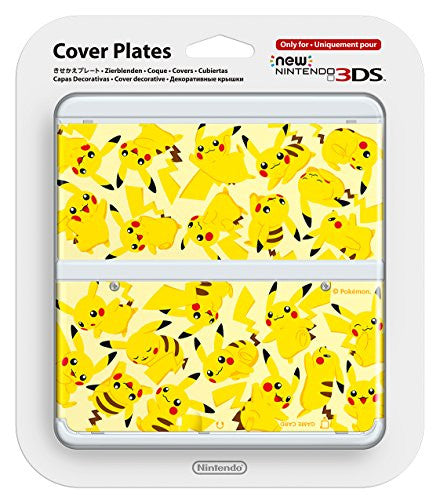 New Nintendo 3DS Cover Plates No.057 (Pikachu)