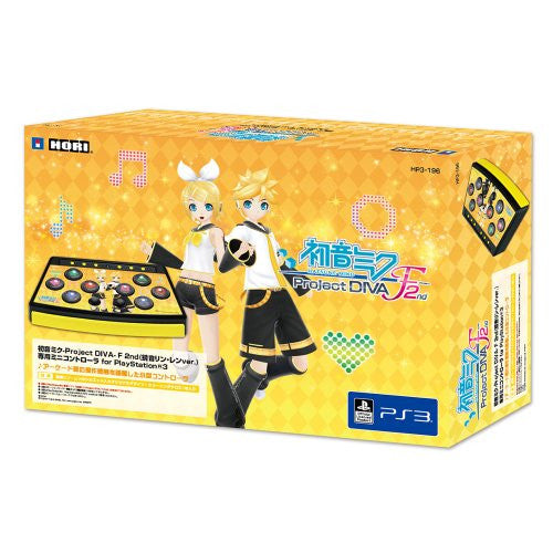 Image 3 for Hatsune Miku -Project Diva- F 2nd Mini Controller for PS3 (Kagamine Rin/Len Version)