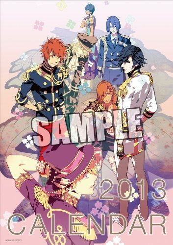 Image 1 for Uta no☆Prince-sama♪ - Uta no☆Prince-sama♪ Debut - Wall Calendar - 2013 (Broccoli)