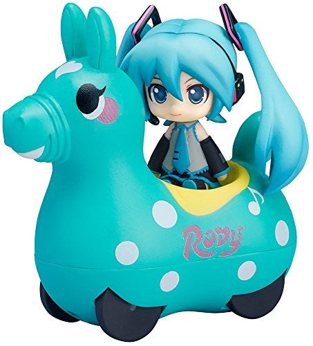 Image 1 for Vocaloid - Hatsune Miku - Rody - Nendoroid Plus - Pull-back Car - Hatsune Miku x Cute Rody, Mint (FREEing)