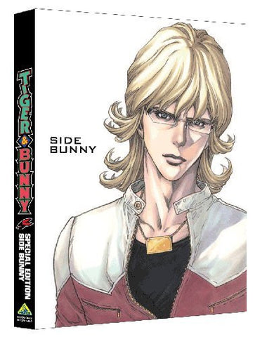 Tiger & Bunny Special Edition Side Bunny [Blu-ray+CD Limited Edition]