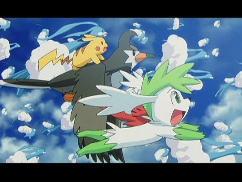 Image 5 for Theatrical Feature Pocket Monsters Diamond & Pearl Giratina To Sora No Hanataba Shaymin