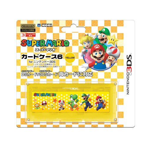 Image 1 for Super Mario Card Case 6 (Yellow)