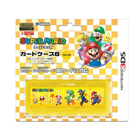 Image for Super Mario Card Case 6 (Yellow)