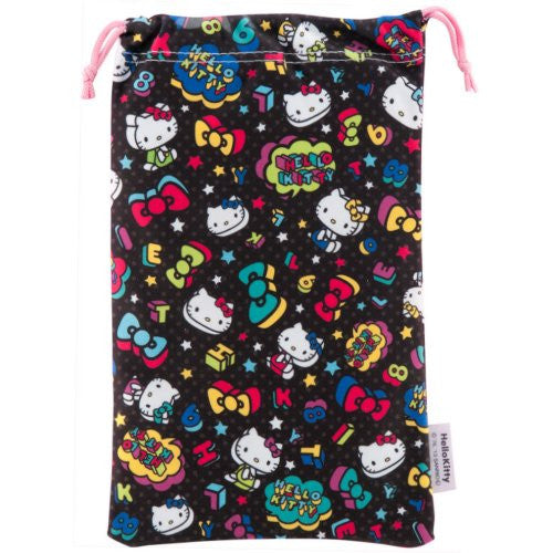 Image 4 for Hello Kitty Pouch for 3DS LL (Black)