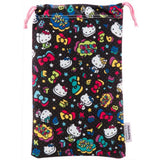 Hello Kitty Pouch for 3DS LL (Black) - 4