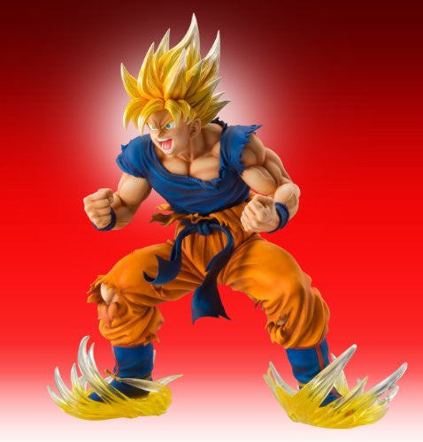 Image 2 for Dragon Ball Kai - Son Goku SSJ - Super Figure Art Collection - 1/8 (Medicos Entertainment)