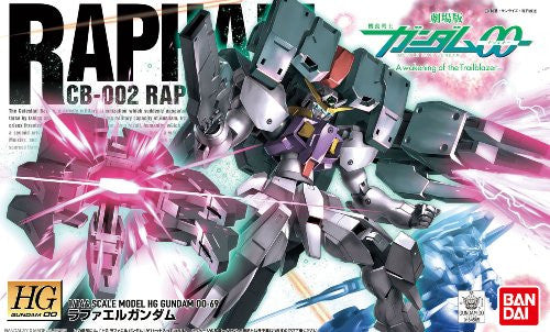 Image 2 for Gekijouban Kidou Senshi Gundam 00: A Wakening of the Trailblazer - CB-002 Raphael Gundam - HG00 #69 - 1/144 (Bandai)