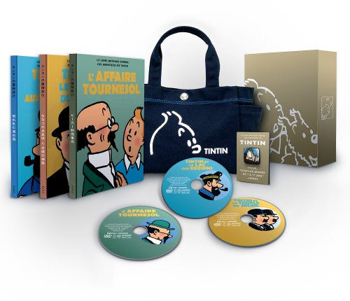 Image 1 for Les Aventures De Tintin Memorial DVD Box