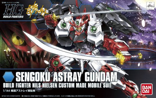 Image 2 for Gundam Build Fighters - Samurai no Nii Sengoku Astray Gundam - HGBF - 1/144 (Bandai)