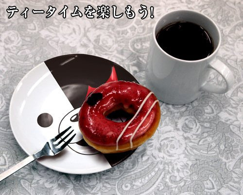 Image 2 for Dangan Ronpa: The Animation - Monokuma - Plate (Cospa)
