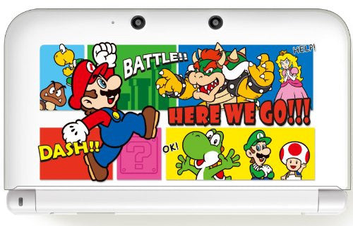 Image 2 for Body Cover for 3DS LL Mario (Type B)