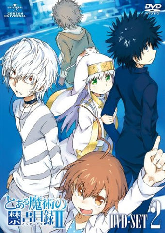 Image for To Aru Majutsu No Index 2 Dvd Set 2