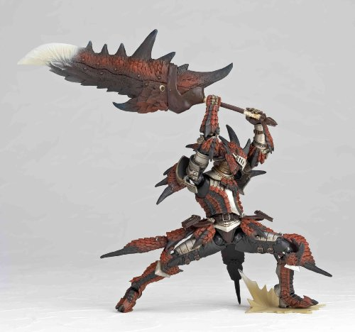 Image 5 for Monster Hunter - Hunter - Revoltech #123 (Kaiyodo, Union Creative International Ltd)