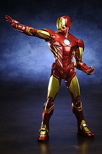 Image 4 for The Avengers - Iron Man - ARTFX+ - Marvel The Avengers ARTFX+ - 1/10 - Red x Gold (Kotobukiya)