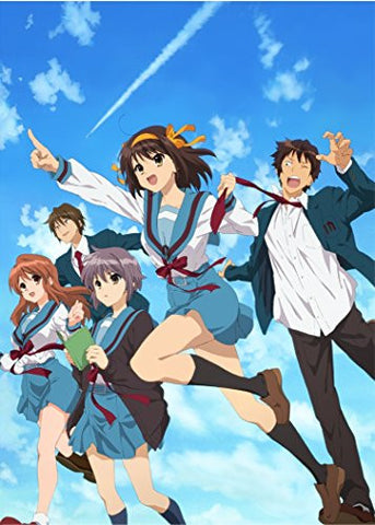 Image for Melancholy Of Haruhi Suzumiya Season 1 Bd-Box [3Blu-ray+2CD]
