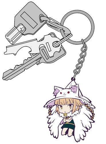 Image 3 for Witchcraft Works - Kuraishi Tanpopo - Tsumamare - Keyholder - Rubber Keychain (Cospa)